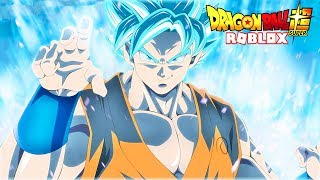 COMBAT IN THE FUTURE AGAINST GOKU SSJ BLUE!!! - ROBLOX DRAGON BALL Z FINAL STAND