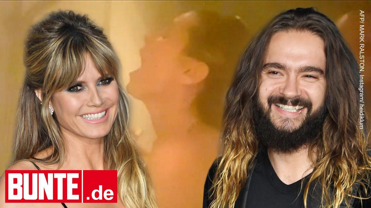 Klum kaulitz nackt heidi Heidi Klum,