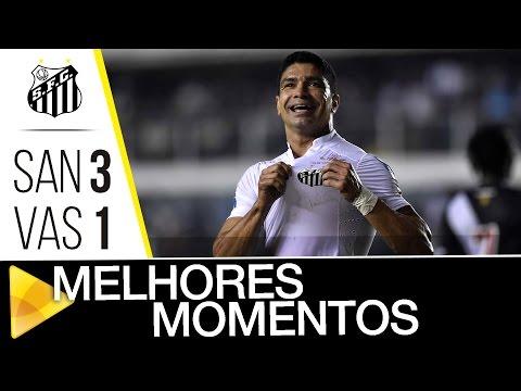 Santos 3 x 1 Vasco | MELHORES MOMENTOS | Copa do Brasil (24/08/16)
