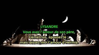 Gambar cover Le Songe d'une nuit d'été texte et audio français  Shakespeare, W