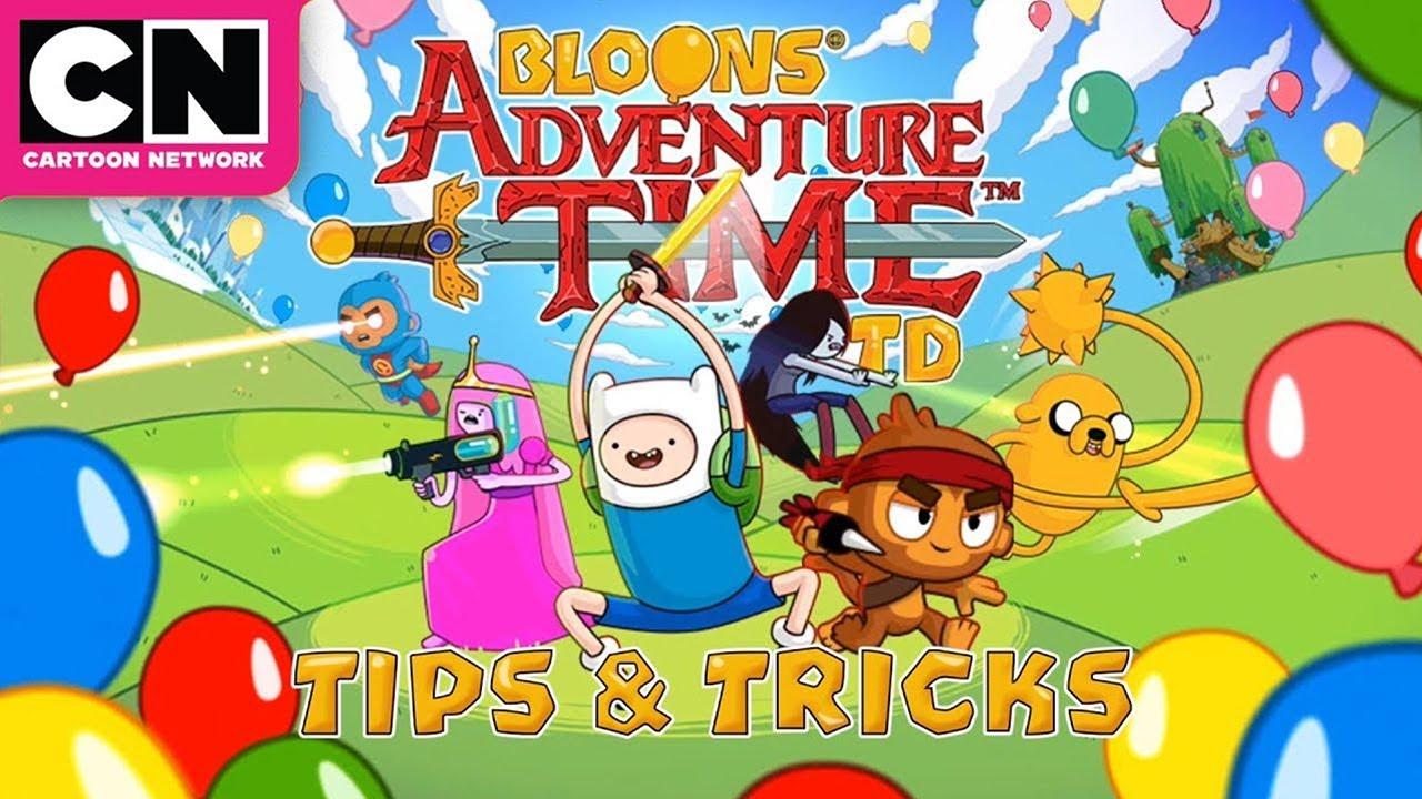 Adventure Time   Bloons TD Tips & Tricks   Cartoon Network