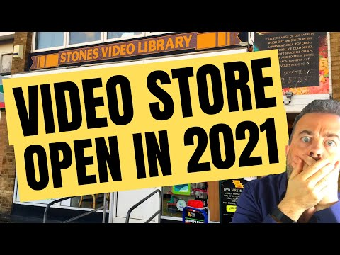 I found a video rental store still open in 2020! But will the pandemic kill physical media?