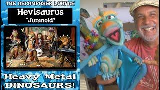 Brandon Terror Dactyl REACTS to Hevisaurus Juranoid - FINLAND HEAVY METAL