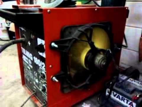 Lasapparaat koelen telwin 180 amp youtube - Poste a souder lidl ...