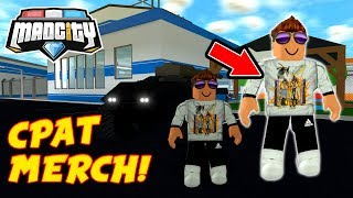 👕 *CPAT T-SHIRT* IN MAD CITY ROBLOX!