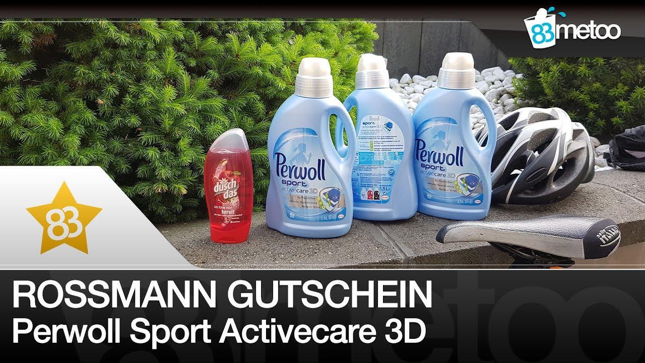 rossmann gutschein perwoll sport activecare 3d waschmittel. Black Bedroom Furniture Sets. Home Design Ideas