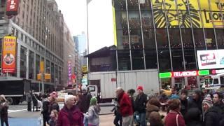 Broadway NY in Dec.27.2011 ブロードウェイ thumbnail
