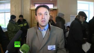 Наблюдатель: Выборы в ДНР проходят спокойно