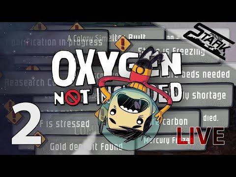 Oxygen Not Included - 2.Rész (Fejlődünk vagy megfulladunk) - Stark LIVE