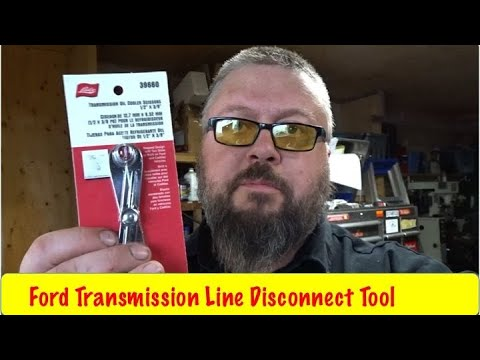 Diy Ford F150 Transmission Line Removal 2004 And Up Youtube