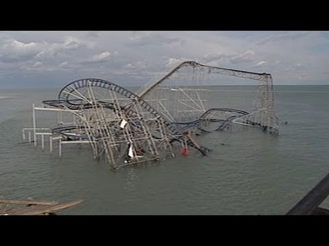 Vanishing America: Jersey Shore Boardwalks Washed Away