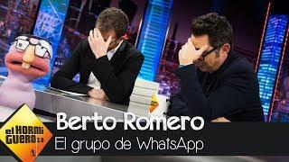 Berto Romero y Pablo Motos hablan del famoso grupo de WhatsApp que compartieron - El Hormiguero 3.0