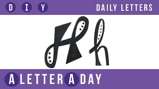 A Letter A Day // Doodle Letters! Today