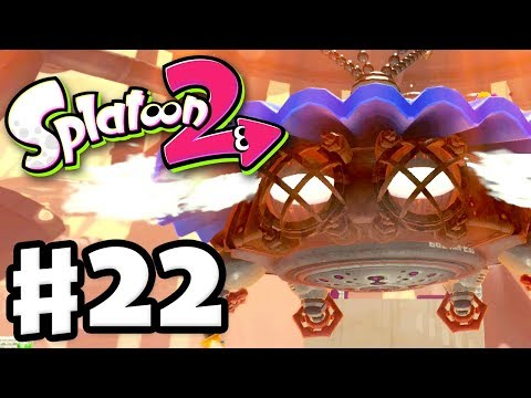 Splatoon 2 - Gameplay Walkthrough Part 22 - Octo Shower Boss Fight! (Nintendo Switch)