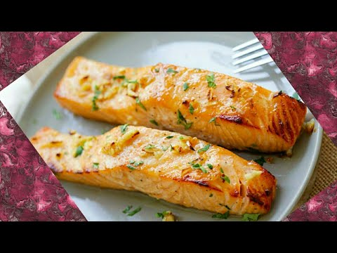 Fresh Baked Salmon Recipe | Fish Recipe- How To Bake Fish | Buttery Salmon Bake