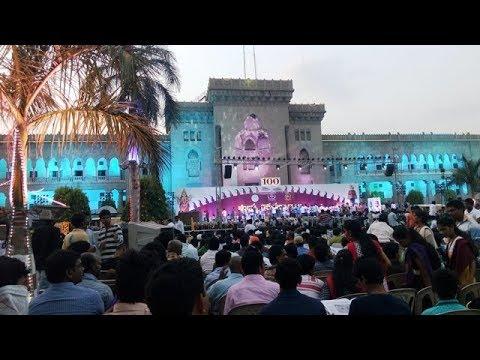 Osmania University (OU) Campus Drive Through Hyderabad India