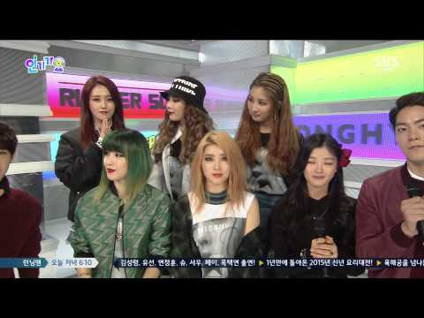 150215 4Minute - Interview @Inkigayo