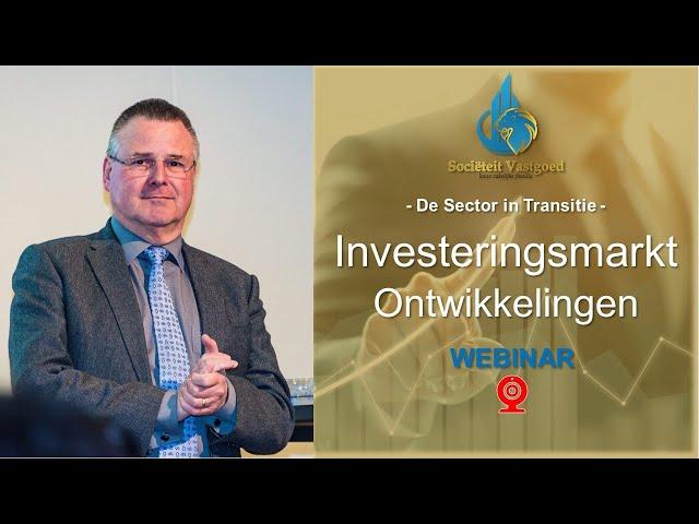 Investeringsmarkt Ontwikkelingen - Jan van den Hogen - WEBINAR - De Sector in Transitie