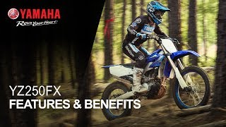Yamaha YZ250FX Features & Benefits