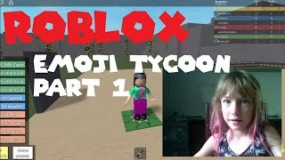 Roblox emoji tycoon part 1 - look at my cool pink hair