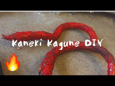How To Make Kaneki S Scaled Kagune Youtube