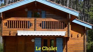 Location vacances dans les Landes - Chalet à  Bias - Proche Mimizan