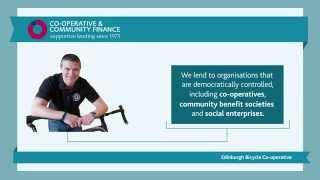 Lending for social purpose   Co-operative & Community Finance