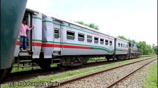 Madhumati Express vs Rupsha Express Crossing Near Mirpur Station - Bangladesh Railway
