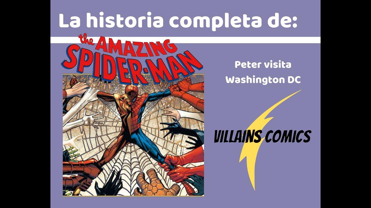 Spiderman Peter visita Washington