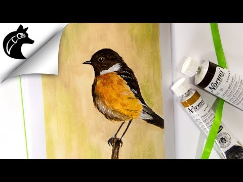 Oil Painting Demo Bird