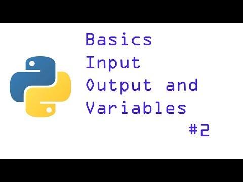 Print, input and variable||Python basics for beginners|| python tutorial in hindi|#2 thumbnail