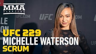 UFC 229: Michelle Waterson Says 'I Have More Tools In My Toolbox' Than Felice Herrig - MMA Fighting