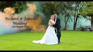 Richard & Joanne Wedding Ceremony 31st August 2018