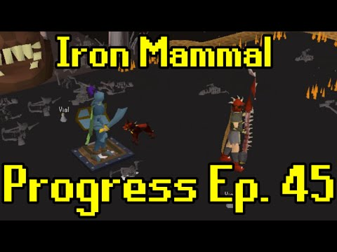 Oldschool Runescape - 2007 Iron Man Progress Ep. 45 | Iron Mammal
