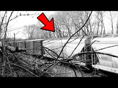 Train Disappears in Canada (TELEPORTATION CAUGHT ON TAPE)