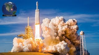 Download SpaceX Falcon Heavy, all 3 boosters landed! Successful launch of Arabsat 6A (4/11/2019) Mp3 and Videos