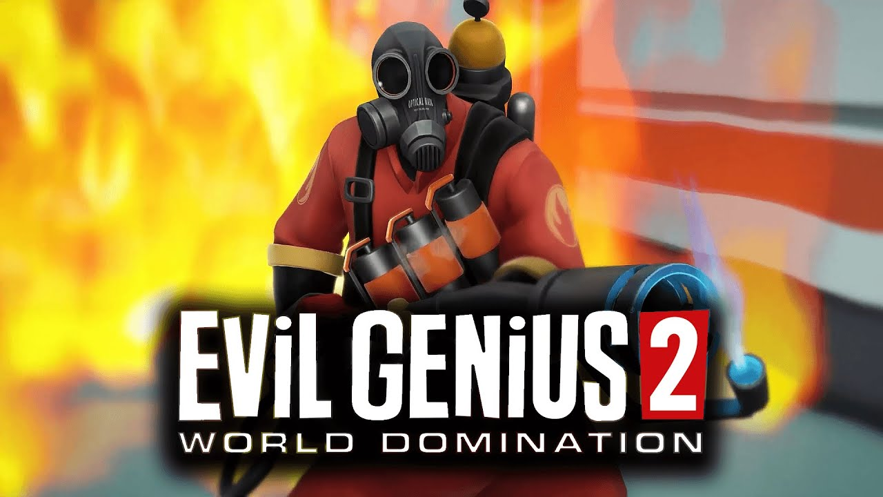 Evil Genius 2 - THE PRYO Side Story // Free Team Fortress 2 DLC