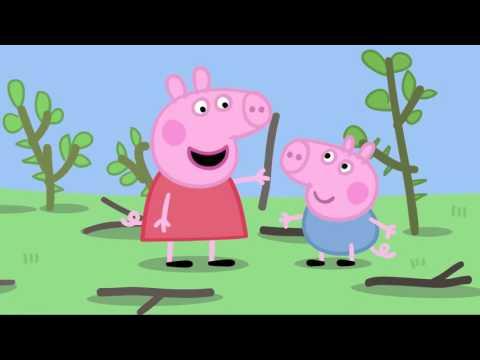 Chop Chop свинка пепа Rytp отдых в лесу +18