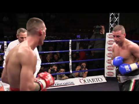 Boxe - Mirco Ricci vs Davide Rettori