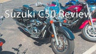 Suzuki Boulevard C50 Touring Motorcycle Review