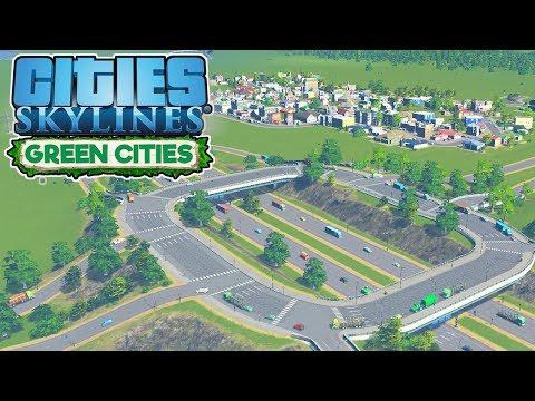 Highway Interchange – Cities Skylines Green Cities Gameplay – Let's Play Part 6