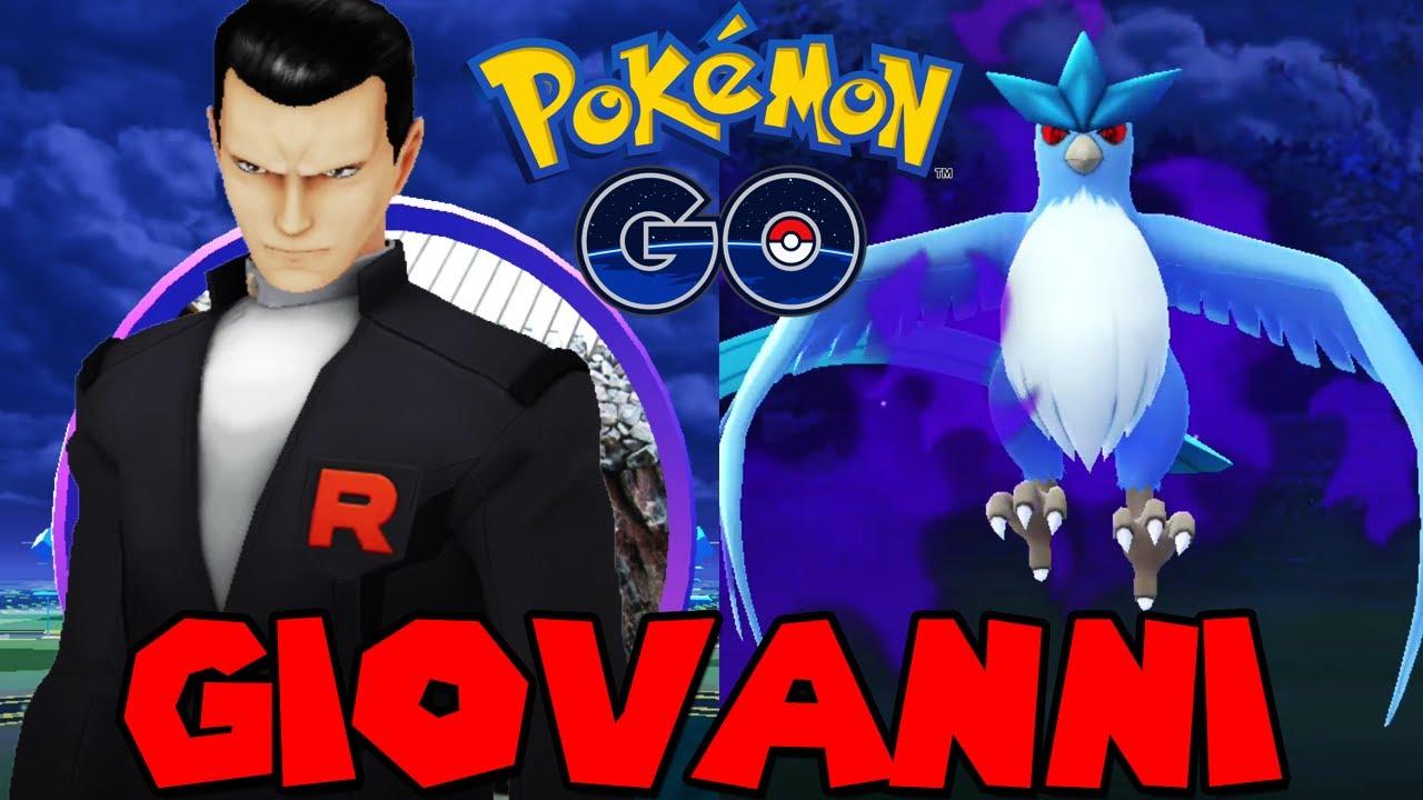 Giovanni Pokemon Go