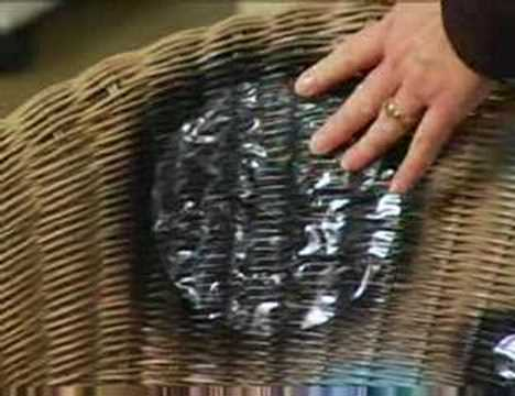 Diy Updating Wicker Furniture From Bhg Com Youtube