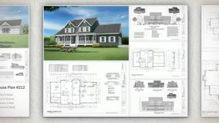 Builder House Plans #267 Autocad Dwg Blueprints