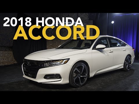 2018 Honda Accord First Look
