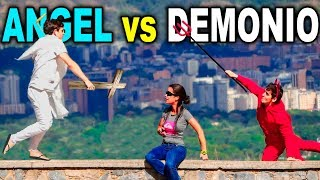 Angel vs Demonio (Broma con camara oculta)