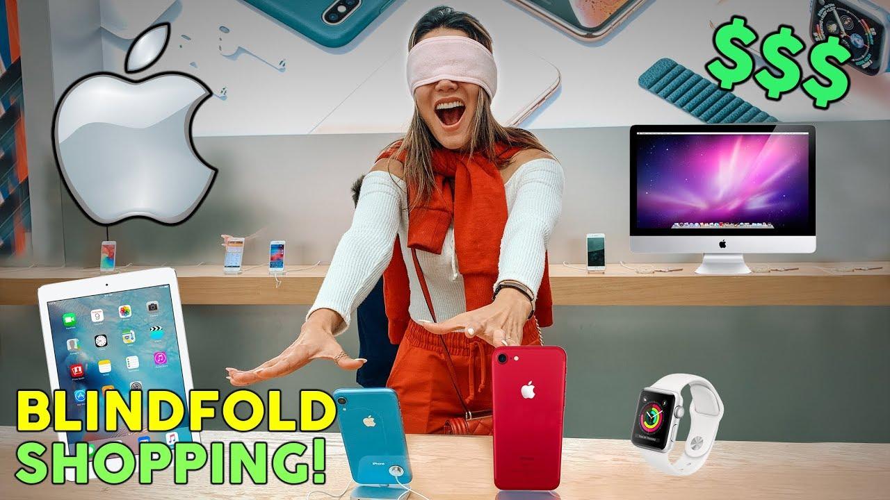 Buying Everything I Touch Blindfolded Apple Store