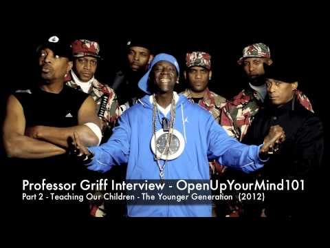 Professor Griff - Young People Are The Future Full Interview