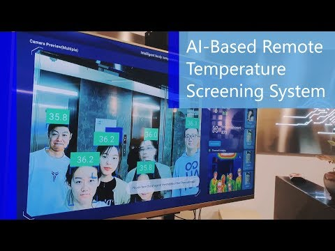 AI-Based Remote Temperature Screening System