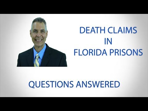 Death Claims in Florida Prisons | Leesburg FL Lawyer